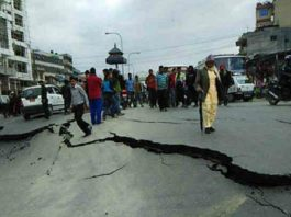 earthquake in delhi
