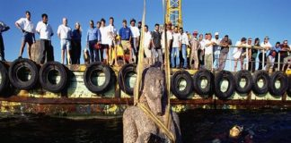 gold silver treasure recovered from china sea