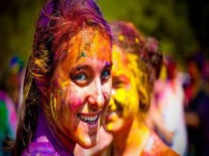 hair care from colors on holi