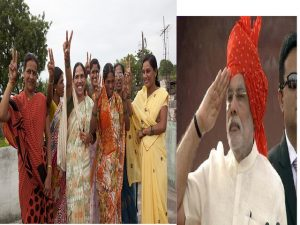 narendra modi on women's day