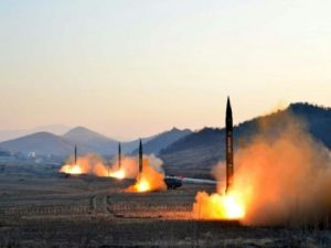 north korea ballastic missile test