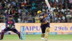 rahul tripathi of rising pune supergiant defeated kolkata kinght riders ipl 2017
